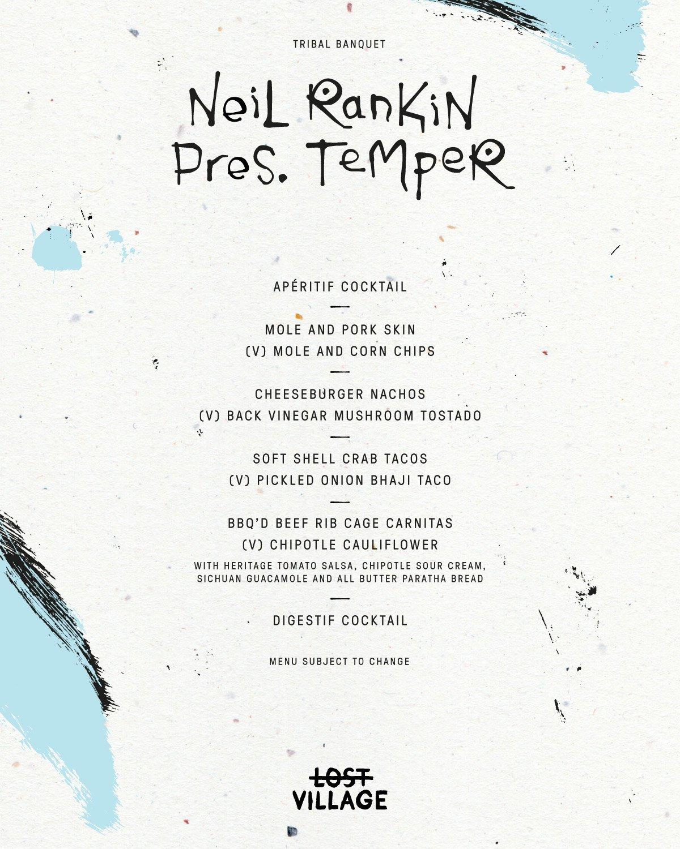 Neil Rankin Presents Temper